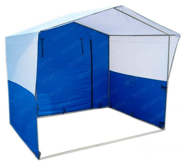 Торговая палатка ДОМИК 1.5*1.5 (круглая труба 20⌀ мм