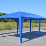 Шатер павильон 6*3 синий (без стенок) 2