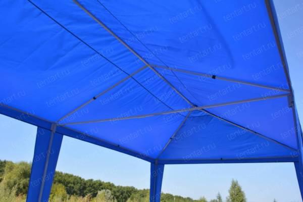 Шатер павильон 6*3 синий (без стенок) 6