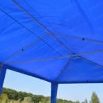 Шатер павильон 6*4 синий (без стенок) 3