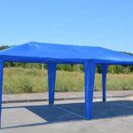 Шатер павильон 6*4 синий (без стенок)