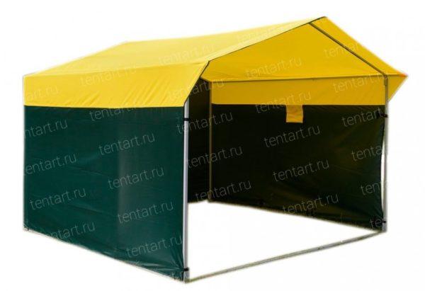 Торговая палатка ДОМИК 3*2 (стальная труба) 1