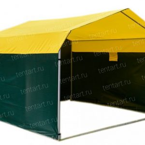 Торговая палатка ДОМИК 4*3 (квадратная труба)